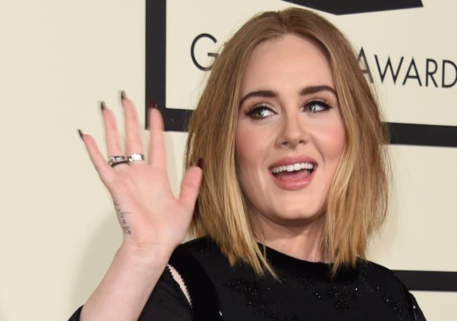 Primo piano di Adele