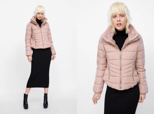 Parka rosa di moda per l'inverno 2018