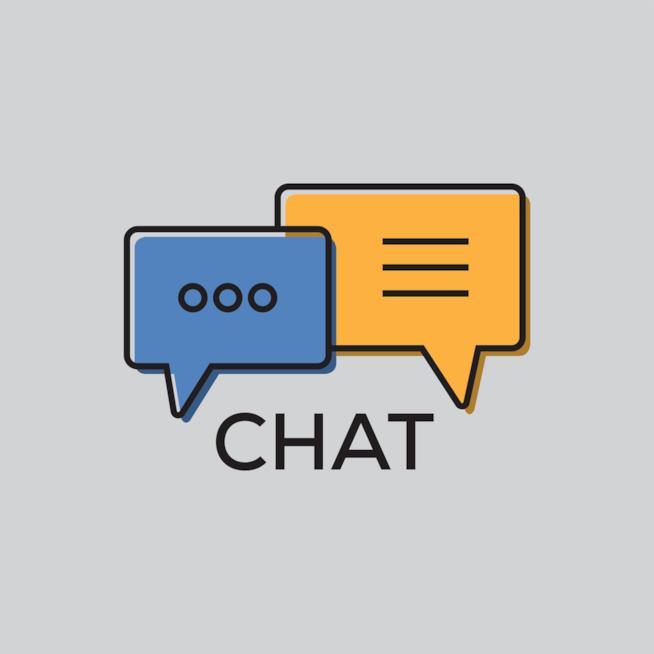 Icona schematizzata della chat