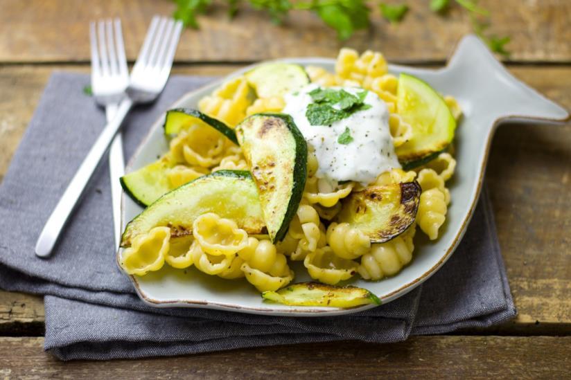 Pasta con zucchine per la pausa pranzo