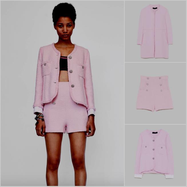 Alcuni outfit in tweed di Zara