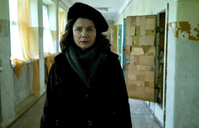 Emily Watson in una scena di Chernobyl