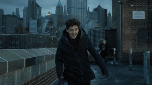 David Mazouz, che interpreta Bruce Wayne