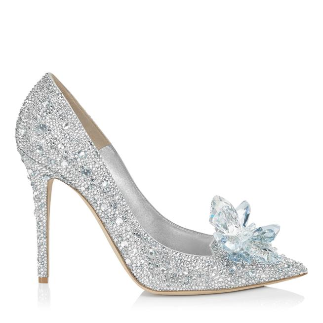 Le scarpe di cristallo di Jimmy Choo