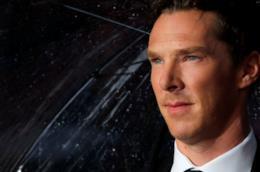 Un primo piano dell'attore Benedict Cumberbatch