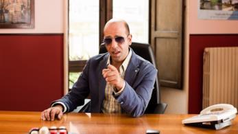 Checco Zalone in una scena del film Quo Vado