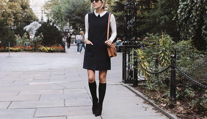 Golfino per abito nero
