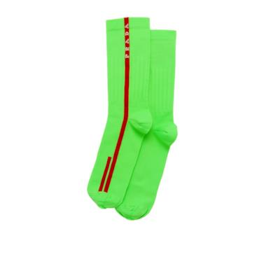 Calzini verde fluo