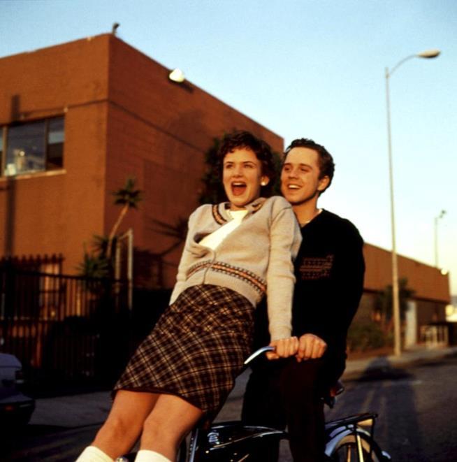 UNa scena di Un amore speciale con Juliette Lewis e Giovanni Ribisi