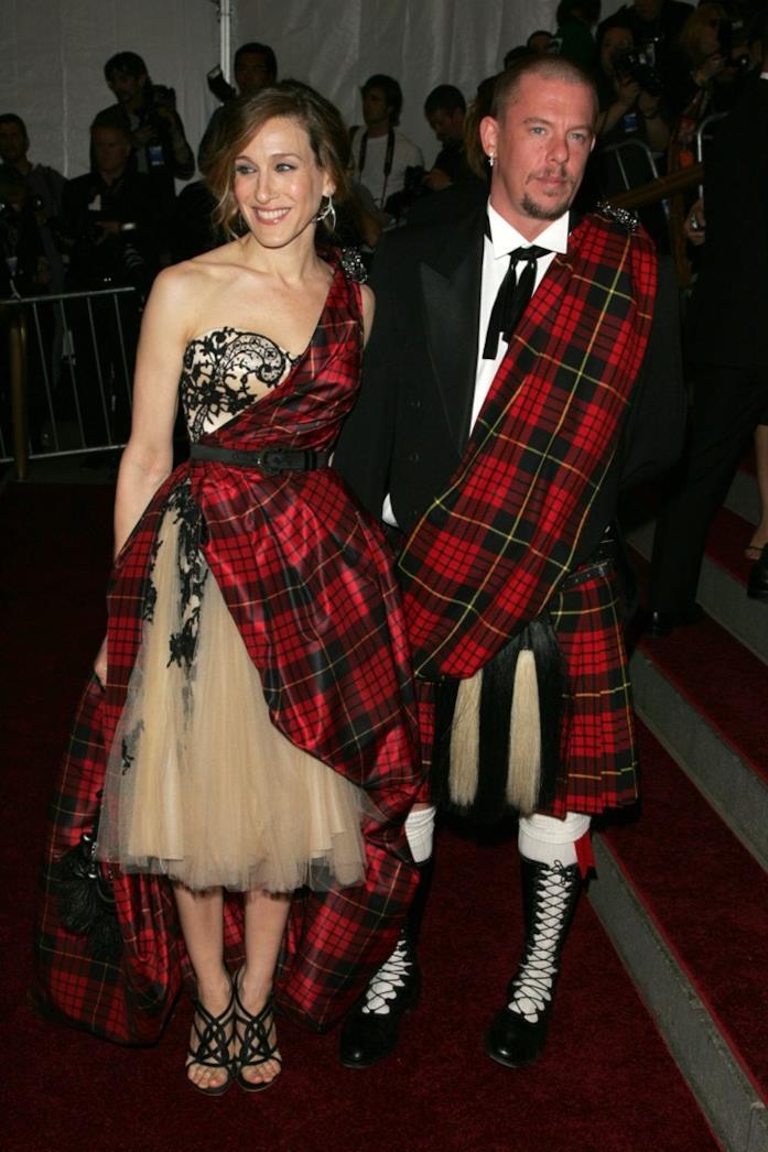 Sarah Jessica Parker e Alexander McQueen al MET 2006
