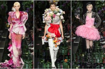 Moschino ha lanciato la moda flower-boom