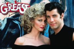 John Travolta e Olivia Newton John in Grease