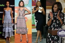 Zendaya, Kerry Washington, Queen Latifah e Michelle Obama