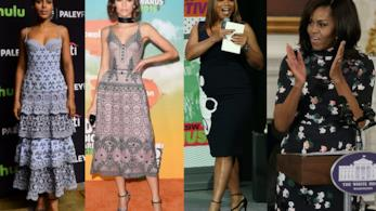Zendaya, Kerry Washington, Queen Latifah e Michelle Obama