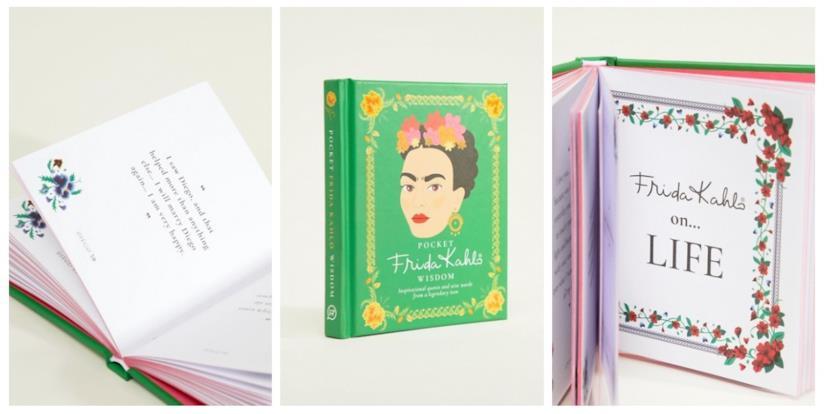 Idee regalo Natale per donna che ama leggere: libro di Frida Kahlo