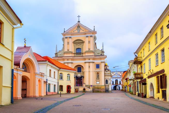 Nel cuore della Città Vecchia di Vilnius