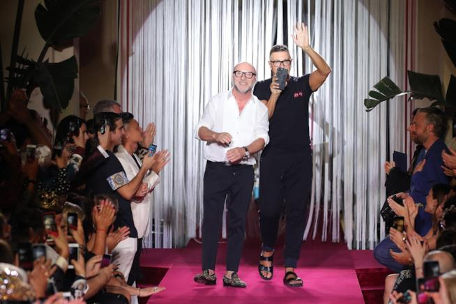 Stefano Gabbana, l'abito della Ferragni?