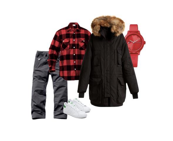 Outfit natalizi per un bambino grande