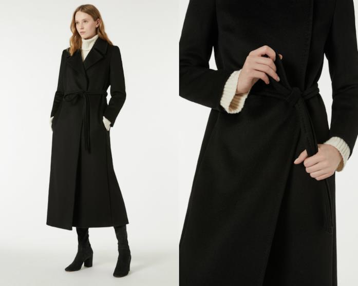Cappotto lungo di moda per l'inverno 2018