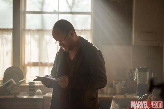 Joss Whedon sul set di Avengers: Age of Ultron