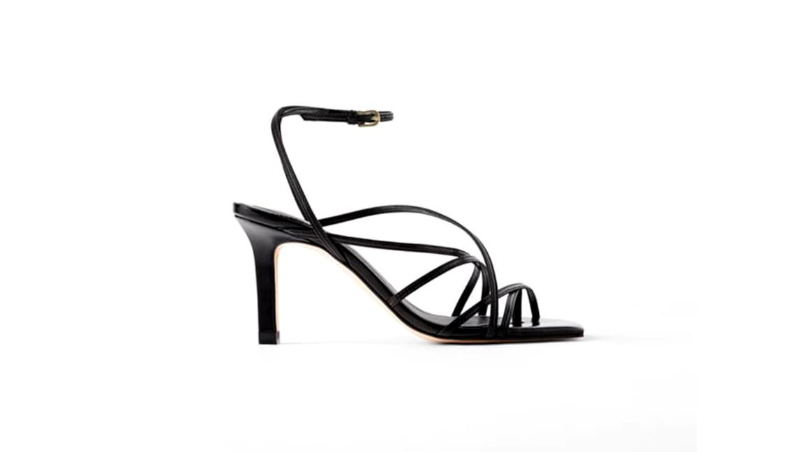 comprare on line 14a7c fbfb9 Moda scarpe autunno 2019: i sandali di Zara con punta quadrata