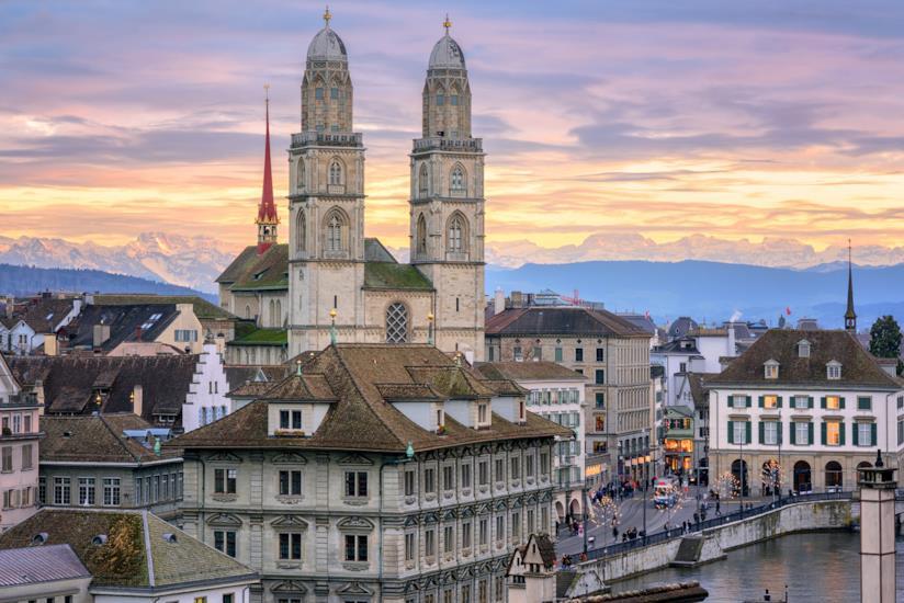 Il duomo di Zurigo, chiamato Grossmünster