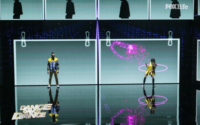 Cristina e Giulio, ultima prova della finale di Dance Dance Dance 2