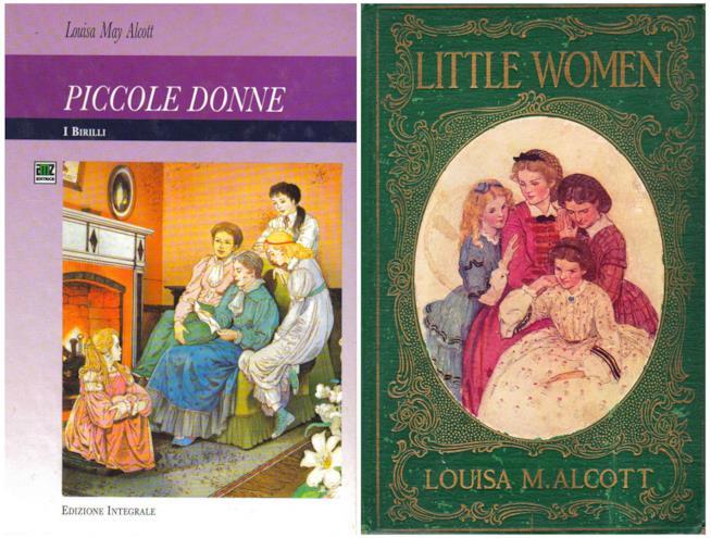 Due edizioni di Piccole Donne