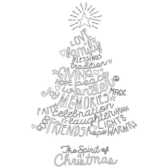 Immagini Con Scritte Di Buon Natale.Buon Natale Scritta Da Colorare