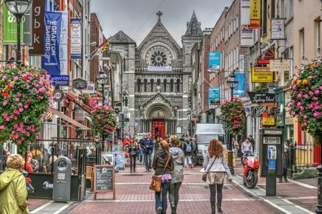 Grafton Street, una delle strade più belle di Dublino