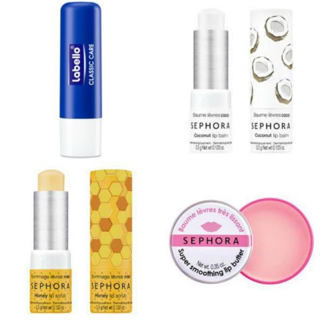 Labello e Sephora, lip balm tradizionali