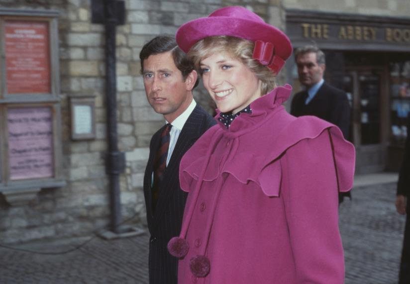 Diana e Carlo in giro