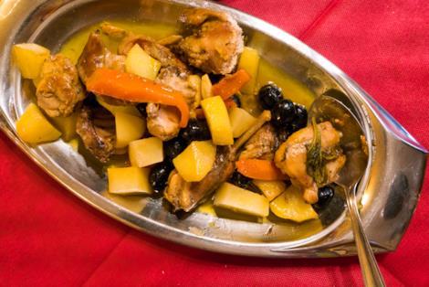Come si prepara il coniglio alla ligure con patate