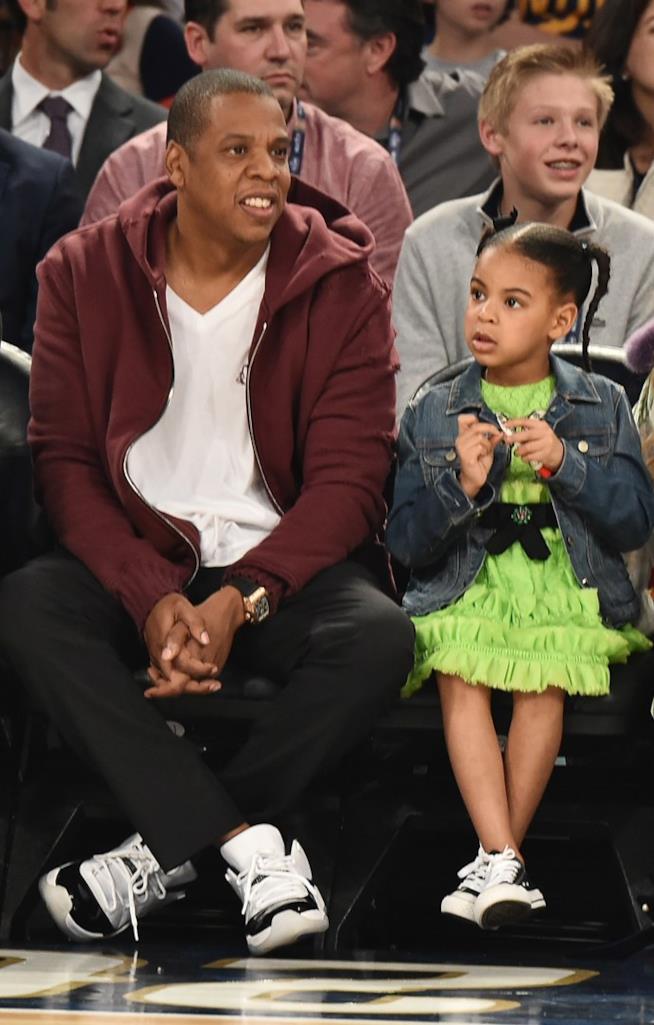 Blue Ivy e papà Jay Z