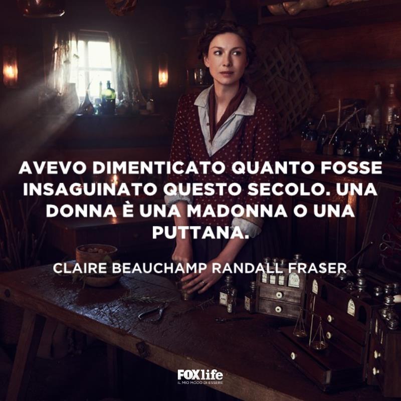Claire in casa