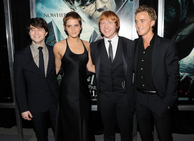 Il cast di Harry Potter