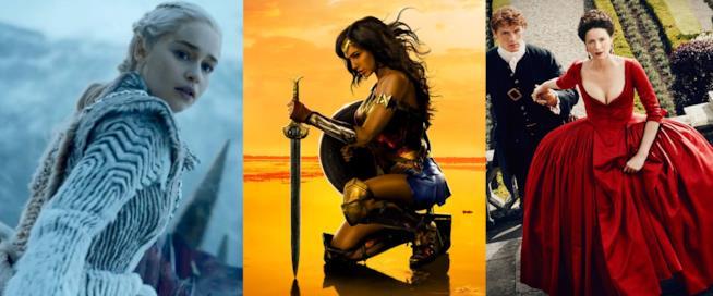 Khaleesi, Wonder Woman, Claire Fraser