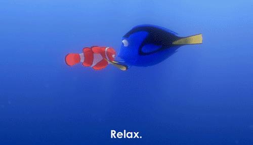 Una gif tratta da Alla Ricerca di Nemo