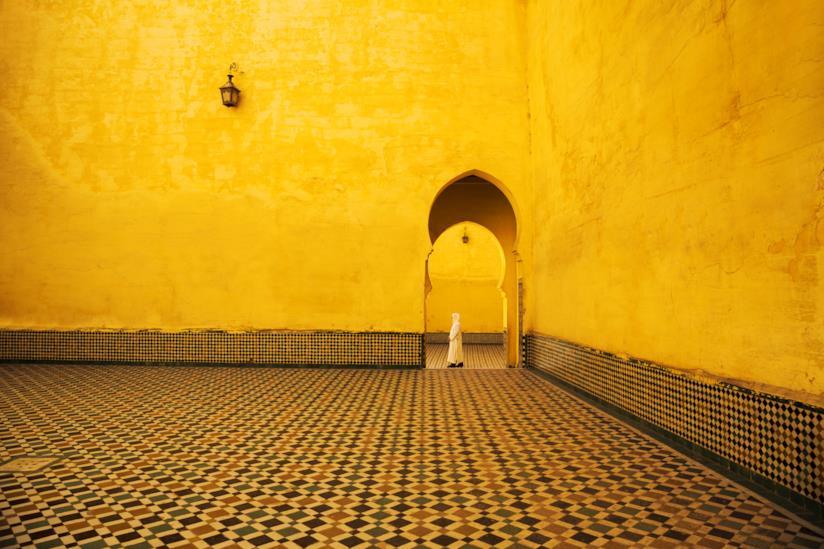 Architetture arabe a Meknès