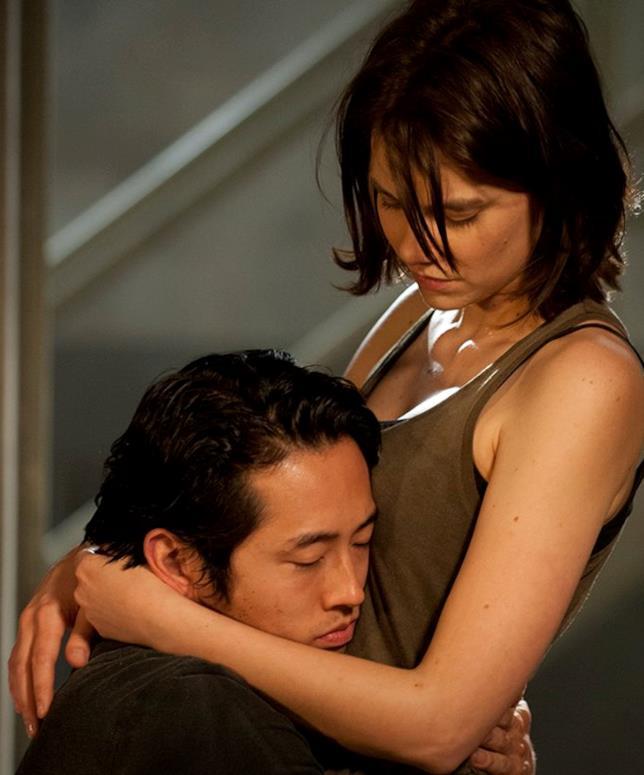 The Walking Dead: Maggie e Glenn