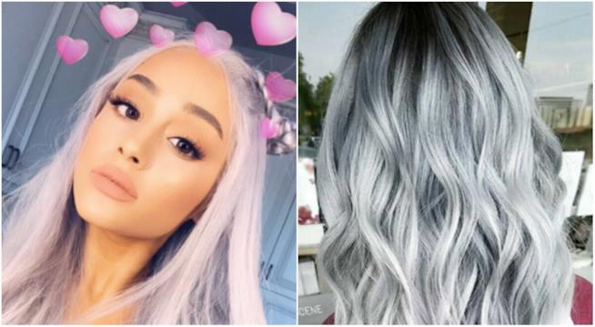 Ariana Grande e i capelli Silver