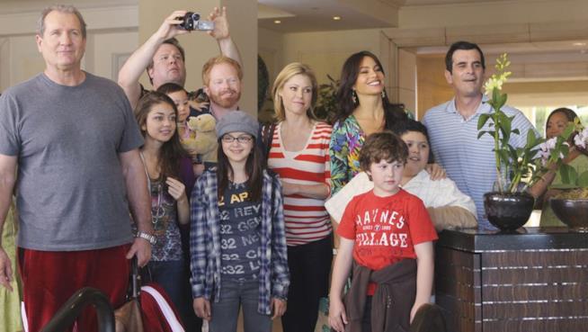 Il cast completo della serie TV Modern Family