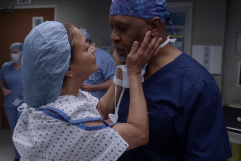 Catherine e Richard Grey's Anatomy