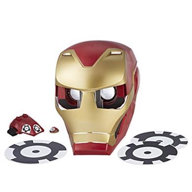Marvel Avengers–Hero Vision Iron Man realtà maggiorata, taglia unica, Hasbro e0849175