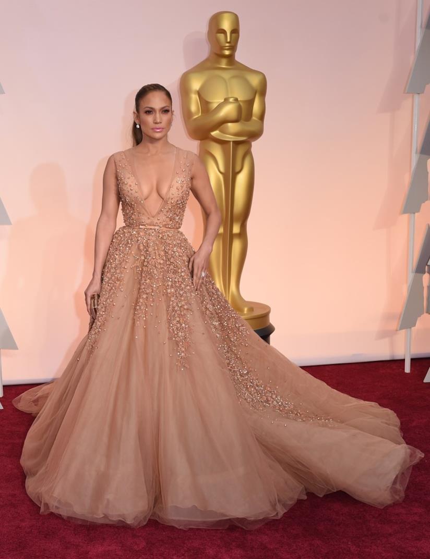 Jennifer Lopez agli Oscar 2015