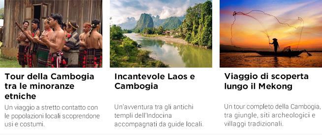 Tour e offerte per la Cambogia