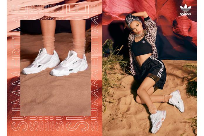 La sneakers è presentata dalla modella di origini coreane Kiko Mizuhara