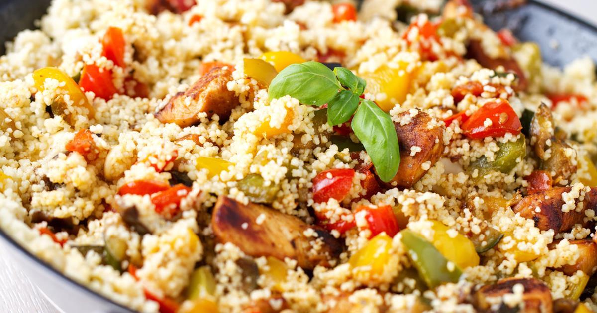 Cous cous freddo di pollo: ingredienti e preparazione