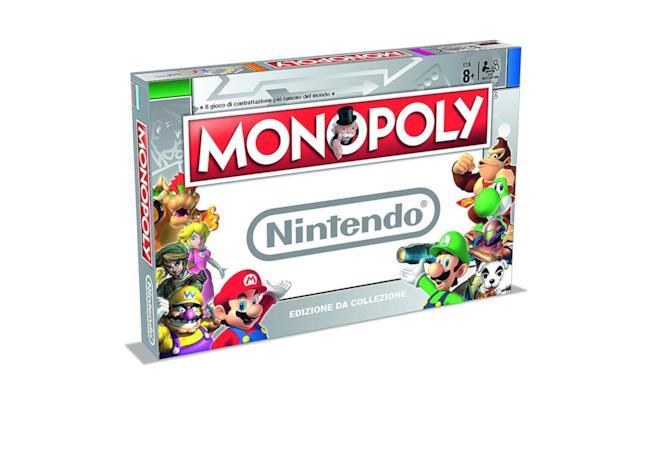 L'edizione del Monopoli dedicata al mondo Nintendo