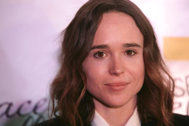 Un intenso scatto di Ellen Page